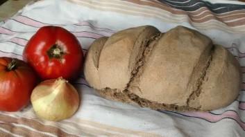 Пълнозърнест хляб със сода