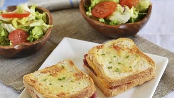 Сандвичи с прошуто и сирене