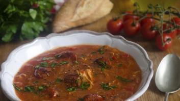 Испанска супа с месо