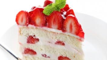 Ягодова торта с крем