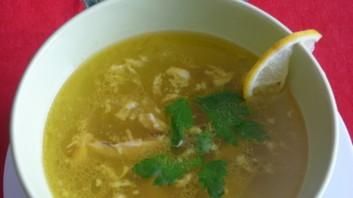 Супа от птичи дреболии с ориз