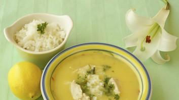 Гръцка супа с лимон (Avgolemono Soupa)