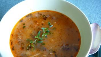 Гъбена супа с фиде