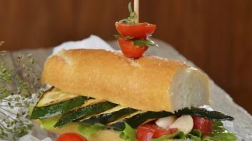 Сандвич с гриловани зеленчуци