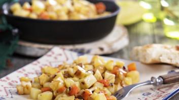 Вкусно ястие от картофи