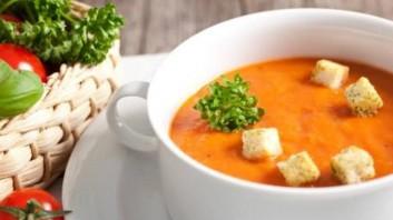 Супа от тиква с бекон