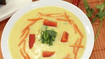 Картофена супа с кокосово мляко