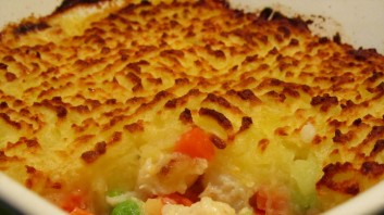 Рибен пай с картофи