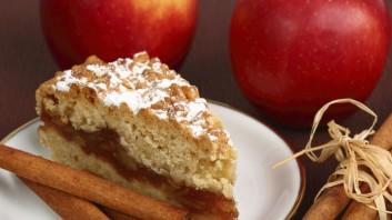 Постен щрудел с ябълки