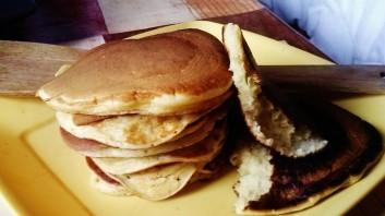 Американски палачинки с кисело мляко