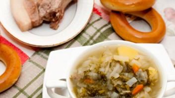 Зелева супа