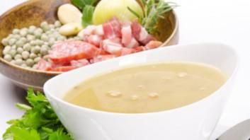 Крем супа с топено сирене