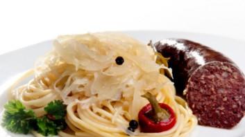 Спагети със зеле по тиролски
