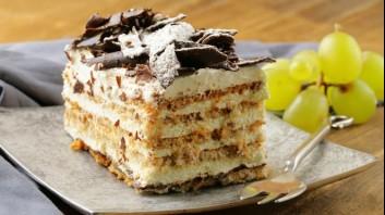 Медена торта с маскарпоне и орехи