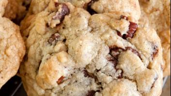 Бисквитки с орехи и джинджифил