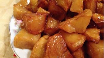 Печени картофи със соев сос