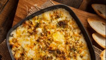 Печени яйца със сирене и кашкавал