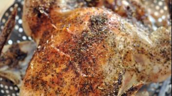 Печено пиле на фурна с ароматни подправки